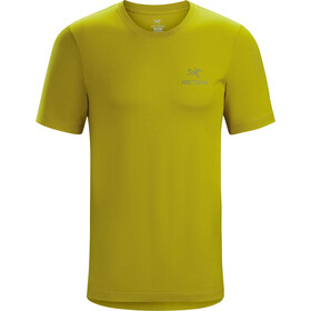 Arc'teryx Emblem T-shirt Heren, midnight sun